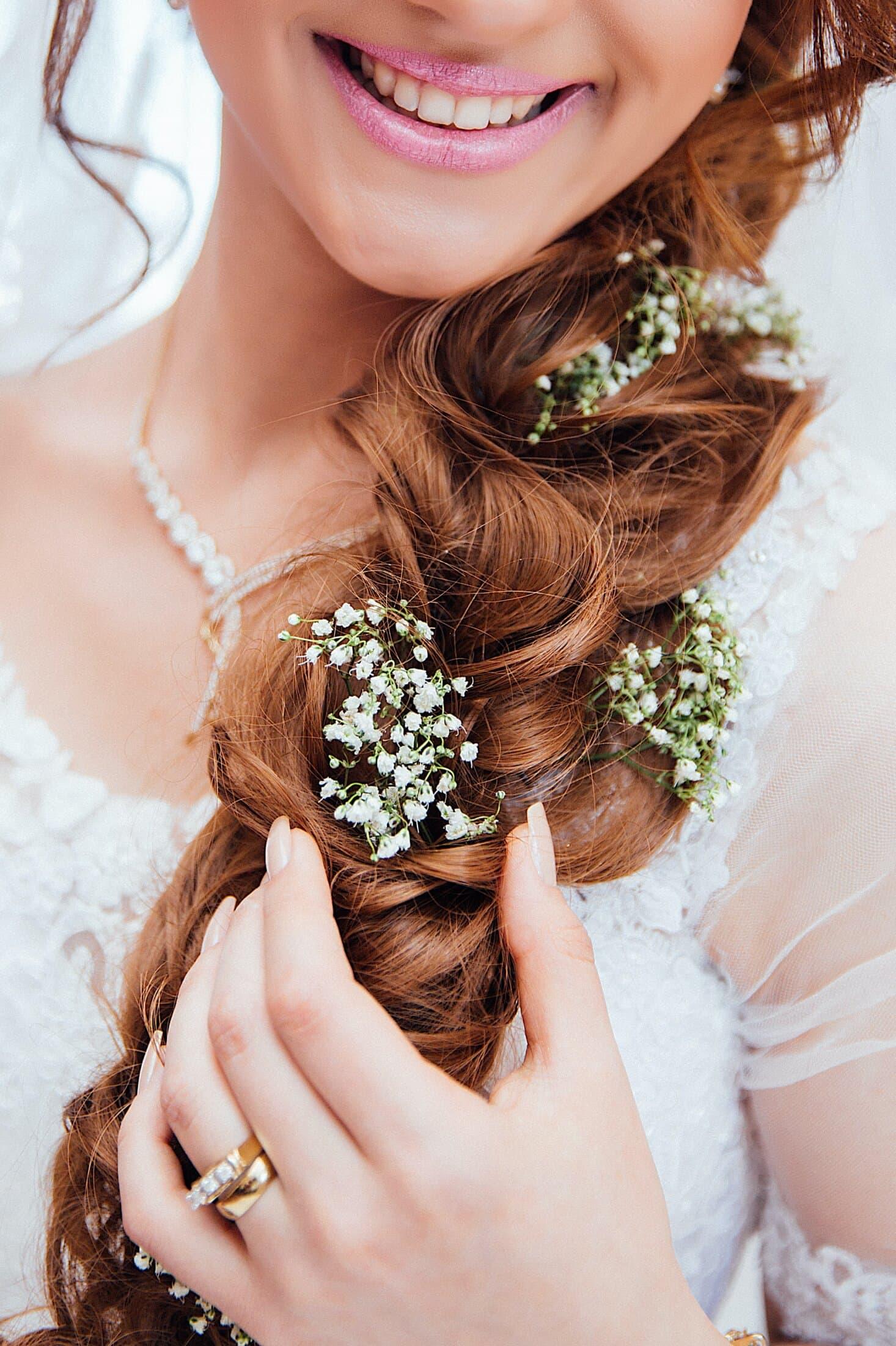 Bridal hair and makeup at Rutland Hall Hotel